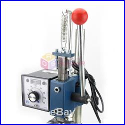 NEW Hot Foil Stamping Machine Manual Marking Leather Debossing Embossing Machine