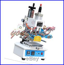 NEW Pneumatic Hot Foil Stamping Machine ZY-819H2 116120mm Printable Area