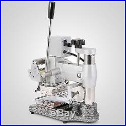 Stamping Machine Hot Foil+2 Foil Paper Leather Printing ID Pvc Excellent Popular