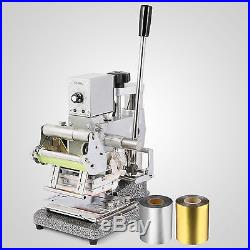 Stainless Steel Tipper stamper PVC Card Album Hot Foil Stamping Machine New
