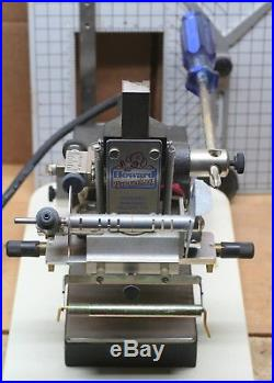 The Howard Personalizer Hot Foil Stamping Machine Model 150