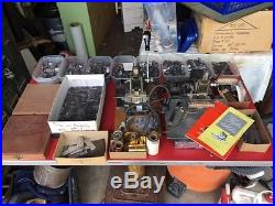 Two Vintage Kingsley Hot Foil Stamp Machines with Lots of Type and more