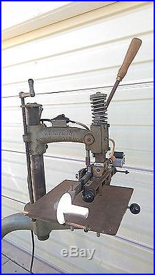 Vintage KWIKPRINT Model 86 Hot Foil Stamping Machine with Foil and Stamps