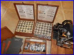 Vintage Kingsley Hot Foil Stamping Machine With Tons Of Accessories
