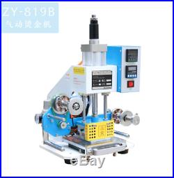ZY-819B 8090mm Printable Area Pneumatic Hot Foil Stamping Machine 70mm e